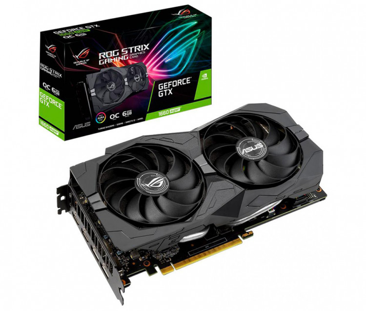 Відеокарта nVIDIA GTX1660 Super Asus Gaming 6Gb 192bit GDDR6