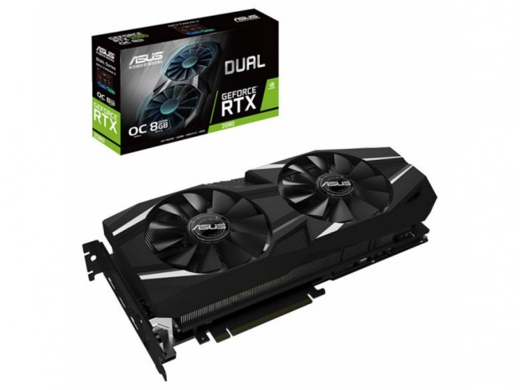 Відеокарта nVIDIA RTX2080 Asus Advanced edition 8Gb 256bit GDDR6
