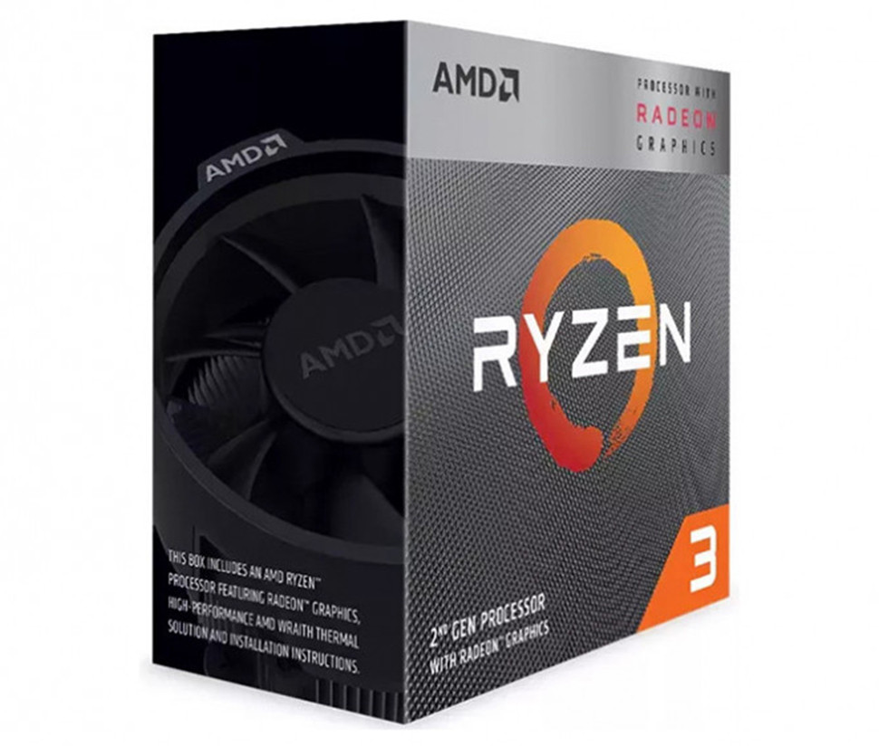 Процесор AMD Ryzen 3 3200G 3.6GHz sAM4 Box