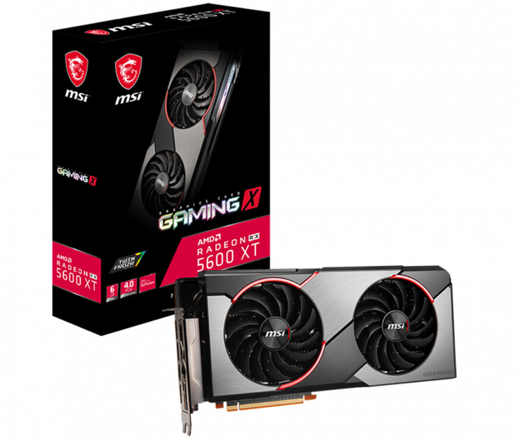 Відеокарта AMD RX 5600 XT MSI Gaming X 6Gb 192bit GDDR6