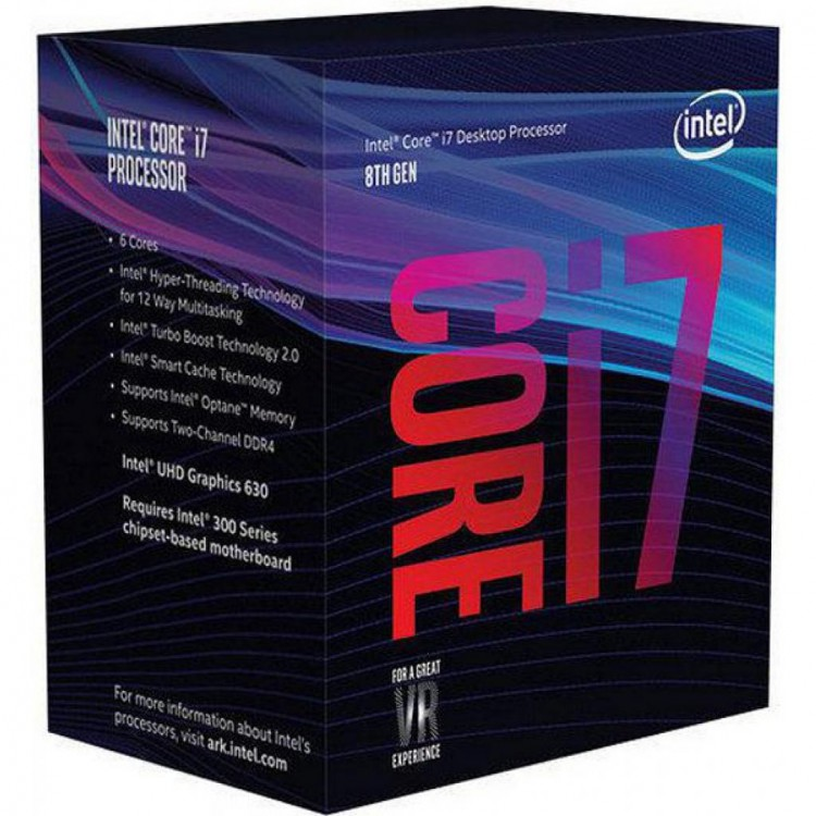 Процесор Intel Core i7-8700 3.2GHz s1151 Box