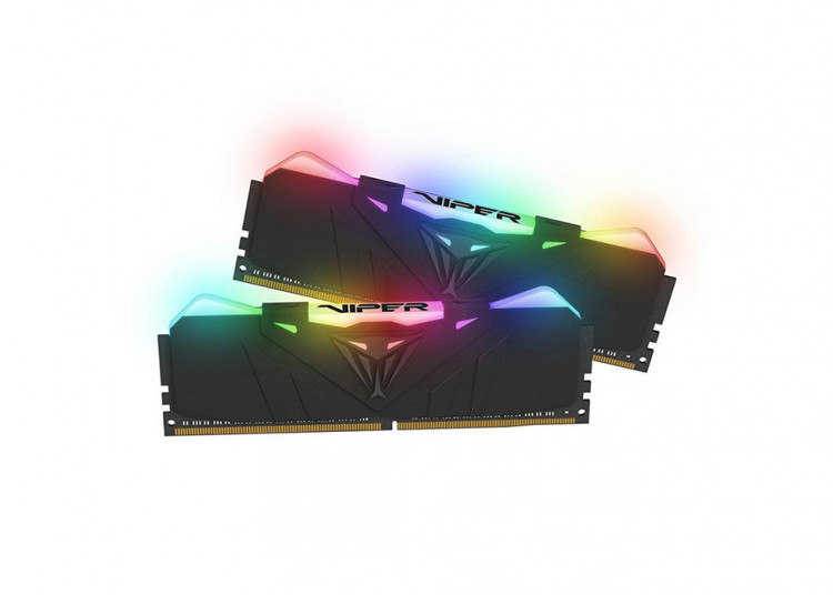 Оперативна пам'ять DIMM 16Gb KIT(2x8Gb) DDR4 PC3000 Patriot Viper RGB