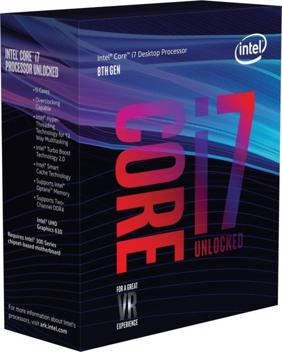 Процесор Intel Core i7-8700K 3.7GHz s1151 Box (без кулера)