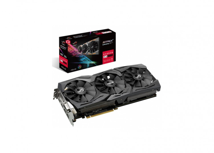 Відеокарта AMD RX 590 Asus ROG Strix Gaming 8Gb 256bit GDDR5