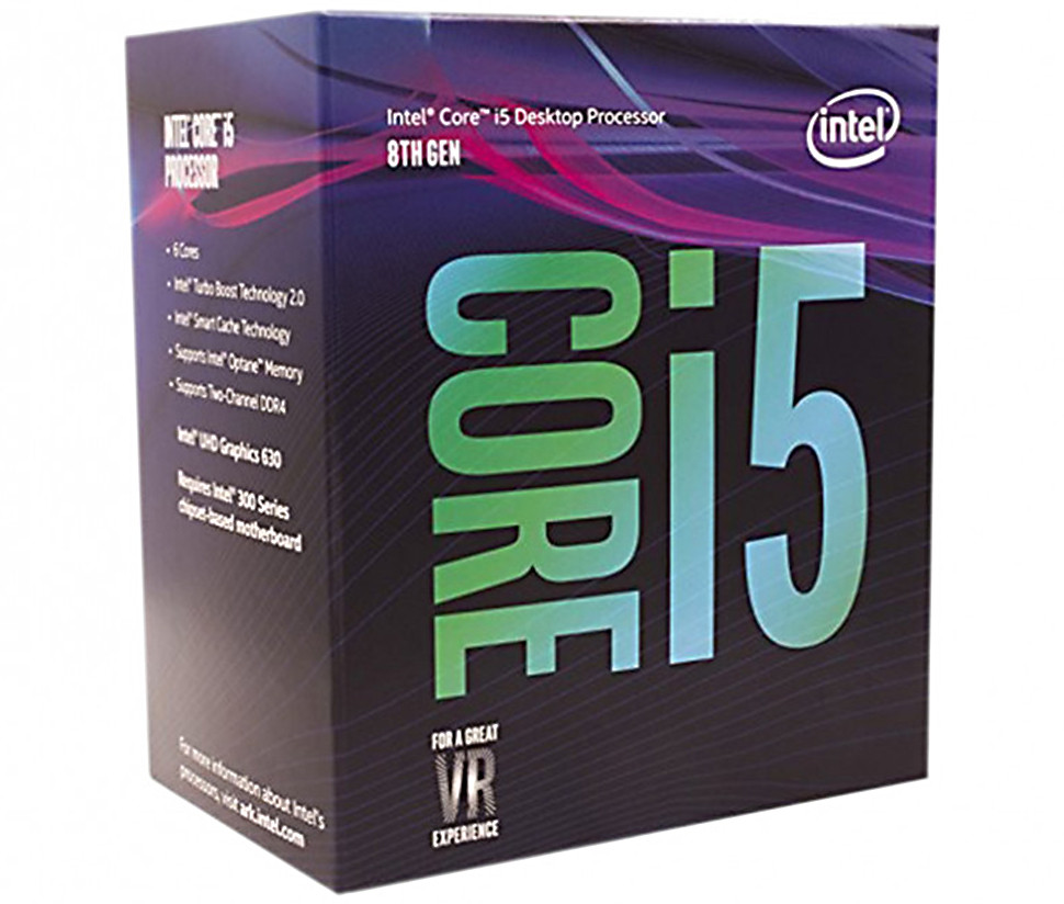 Процесор Intel Core i5-8400 2.8GHz s1151 Box